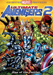 Ultimate avengers 2 poster