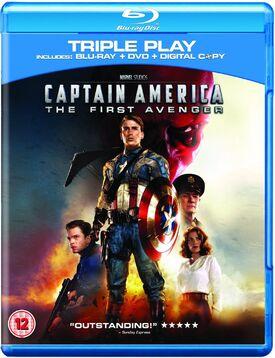 Captain america the first avenger blu-ray DVD digital copy