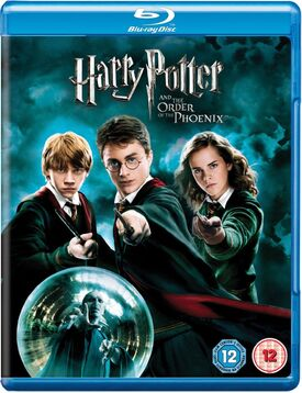 Harry Potter and the Order of the Phoenix Blu-ray 2007