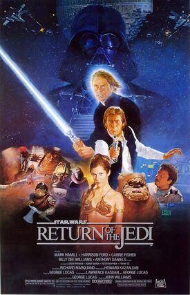 Star Wars Episode VI Return of the Jedi Poster