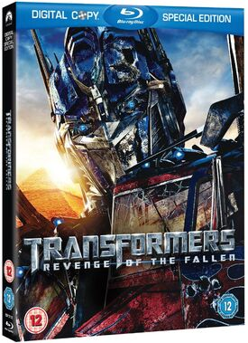 Transformers revenge of the fallen 2 disc special edition blu-ray