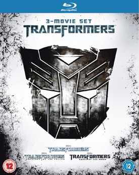 Transformers 1-3 Boxset Blu-ray