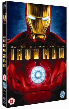 Iron man DVD ultimate 2 disc edition