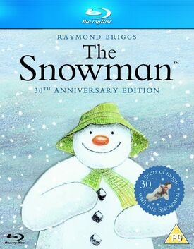 The Snowman 30th Anniversary Edition Blu-ray