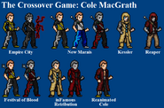 Cole MacGrath Sprites