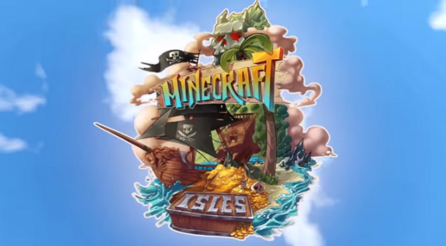 File:Minecraft Isles Logo.png