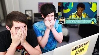 Dan and Phil react to Teens React to Dan and Phil