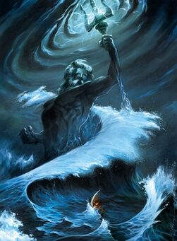 Poseidon God of the Seas