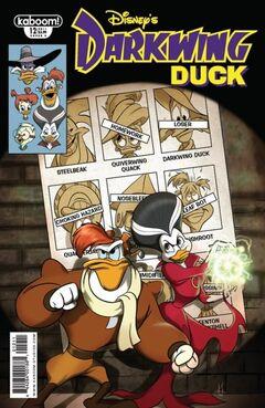 Darkwing Duck Issue 12B