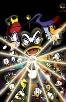 DuckTales (Boom! Studios) Issue 6B logoless cover art