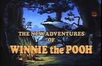 The New Adventures of Winnie the Pooh Title Card