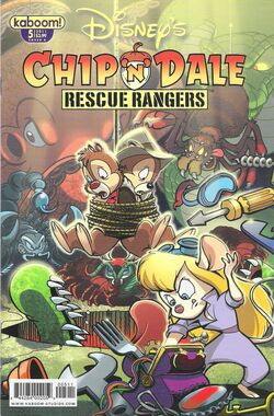 Rescue Rangers 2010 Comic Issue 5B