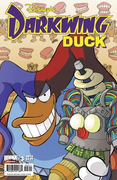 DarkwingDuck BoomStudios issue 3B