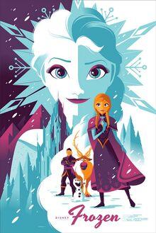 Frozen-poster-mondo