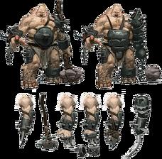 Ogre concept art The Dwarves