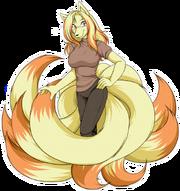 Akane the ninetales by akane the fox-d4y1f7x
