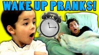 Kids React to Wake Up Pranks