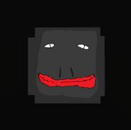 Dark popper badge