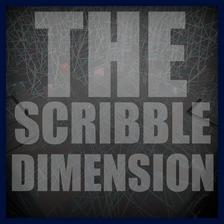 Scribble dimension icon