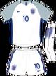 England Euro 2016 home kit