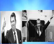 Right Wing Bros(Ronald Reagan and Richard Nixon)