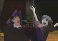 Frollo and Ayumu Bros Pose