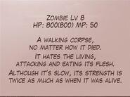 Zombie info