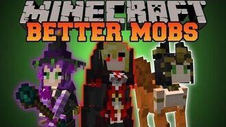 Minecraft BETTER MOBS! (TONS OF MOBS, MERCHANTS, UNIQUE ITEMS) Grimoire of Gaia 2 Mod Showcase