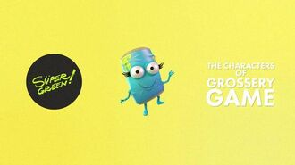 Character Modeling, Rigging and Animation Showcase - Grossery Game.