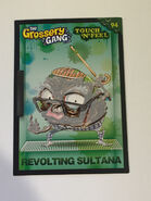 Revolting sultana touch n feel card