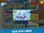 Blue spew cheese app