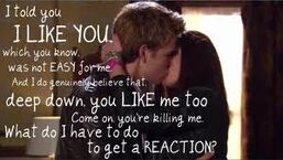 Peddie is adorable