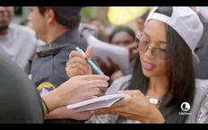 "Alexandra Shipp as Aaliyah Haughton in a Lifetime TV's biographical movie ""Aaliyah: The Princess of R&B"""