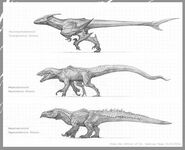 Dinosaur strains concept art