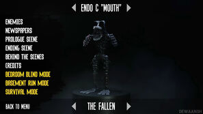 Fallen Endo C mouth story mode extras