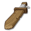Equips Wooden Sword