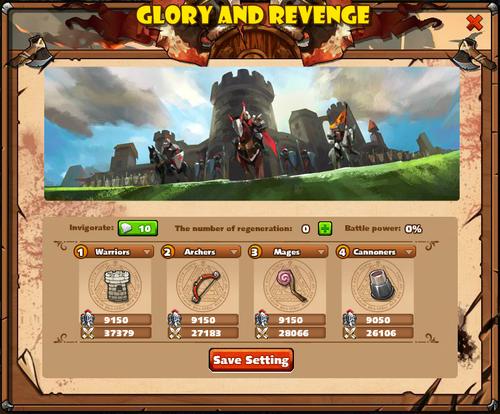 Glory and Revenge Army