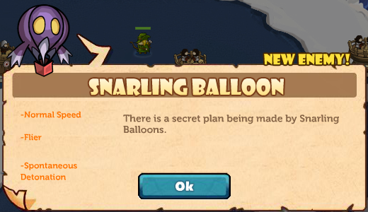 Snarling Balloon