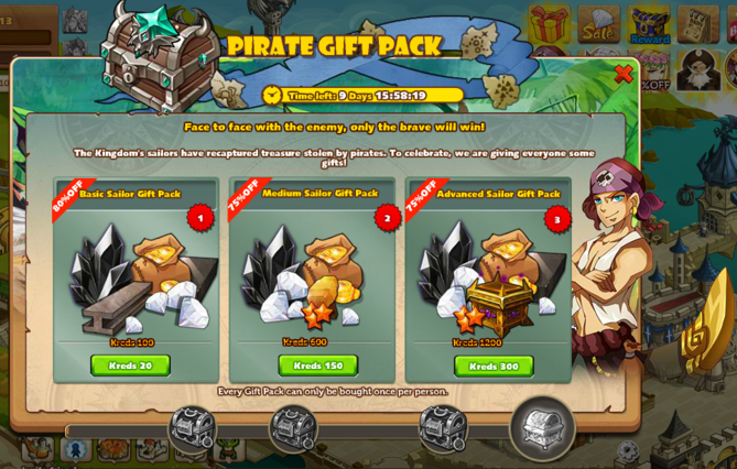 Pirate Gift Pack 2017