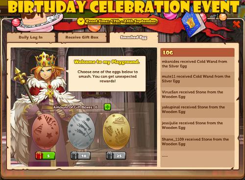 Birthday Celebration Event AG2 2015-09-17 Smashed Egg 1