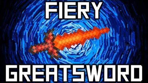 Terraria - Fiery GreatSword Weapon Terraria HERO Terraria Wiki