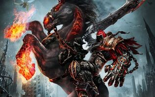 Undead horse with rider