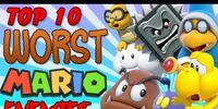 Top 10 Worst Mario Enemies - The Lonely Goomba