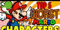 Top 5 Worst Mario Characters - The Lonely Goomba
