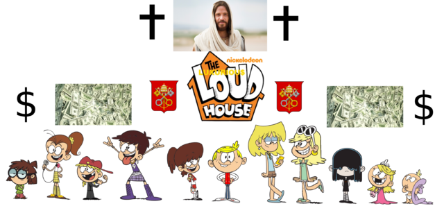 File:The Luxurious Loud House main characters.png