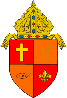 Coat of arms of the Roman Catholic Archdiocsese of Royal Woods