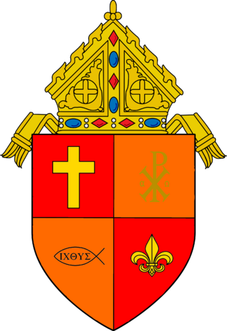 File:Coat of arms of the Roman Catholic Archdiocsese of Royal Woods.png