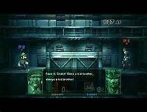 Luigi's Codec Conversation with Solid Snake