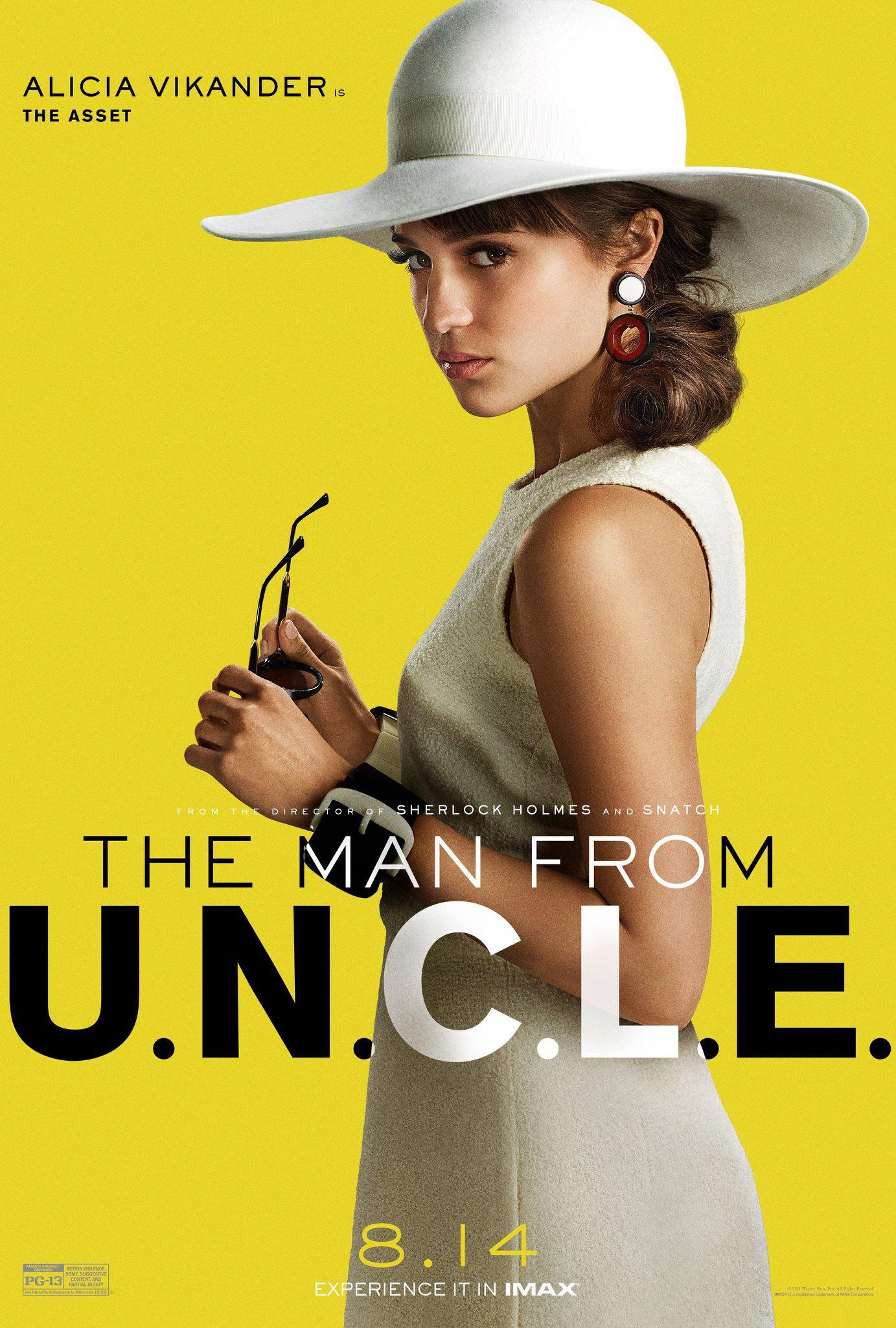 Image - The Man from U.N.C.L.E. (film) poster 6.jpg | The Man from ...
