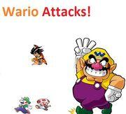 Wario attacks!